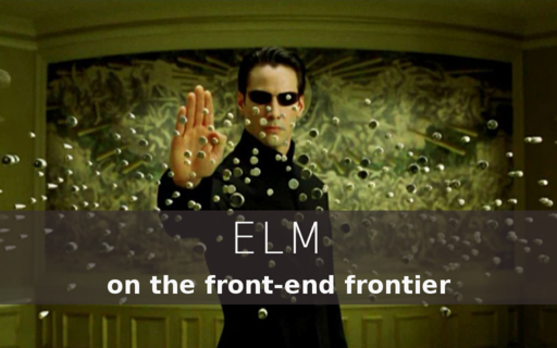 Elm on the Front-End Frontier