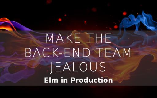 Make the Back-End Team Jealous
